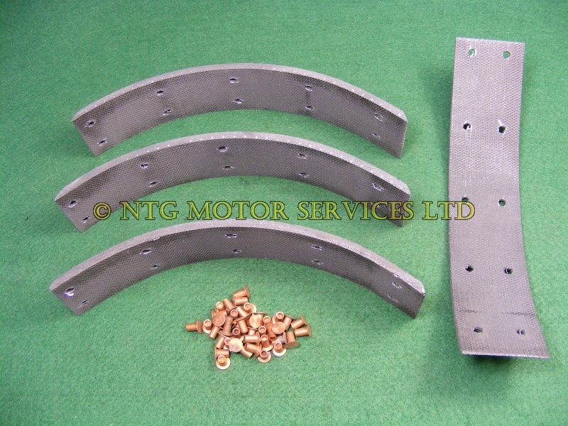 Brake Shoe Riveting Tool : Austin cambridge a morris oxford mg magnette riley